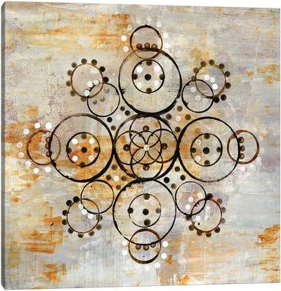 Saffron Mandala I Canvas Art Print
