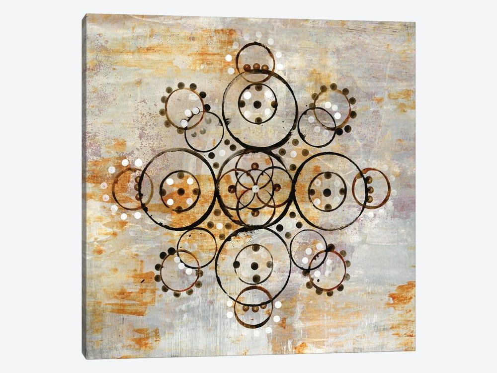 Saffron Mandala I by Melissa Averinos 1-piece Art Print