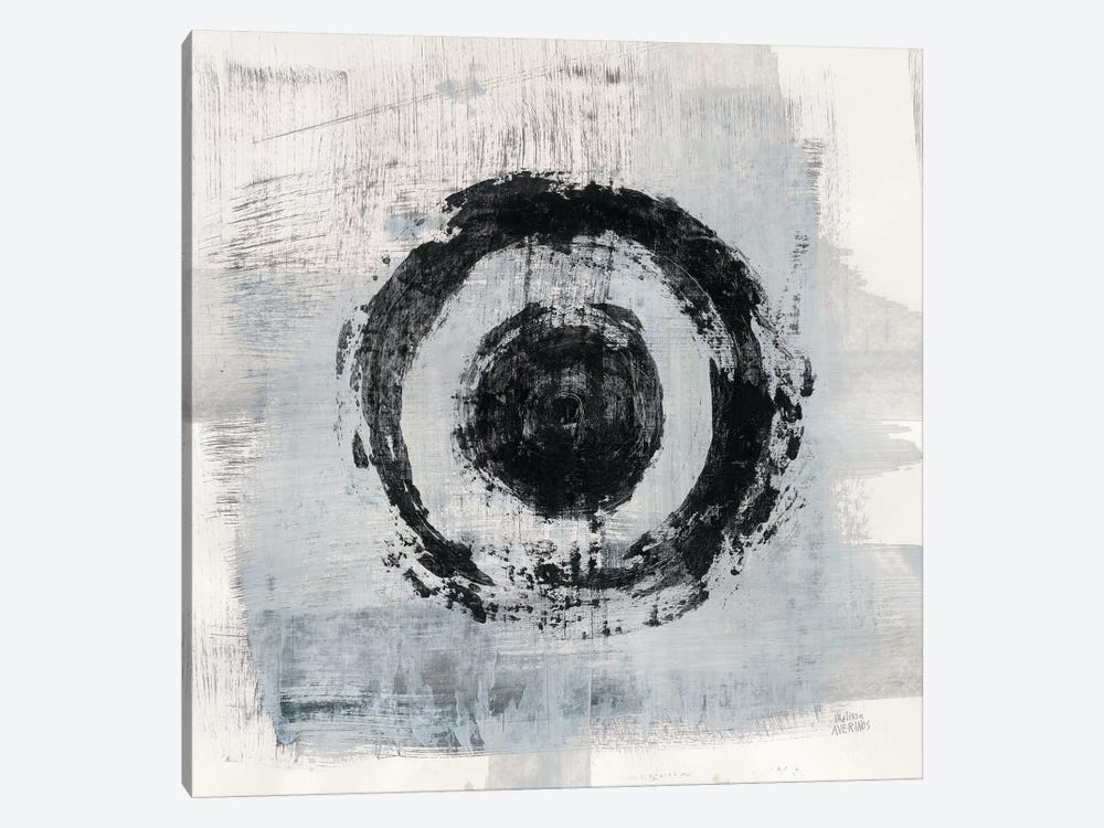 Zen Circle II by Melissa Averinos 1-piece Canvas Print