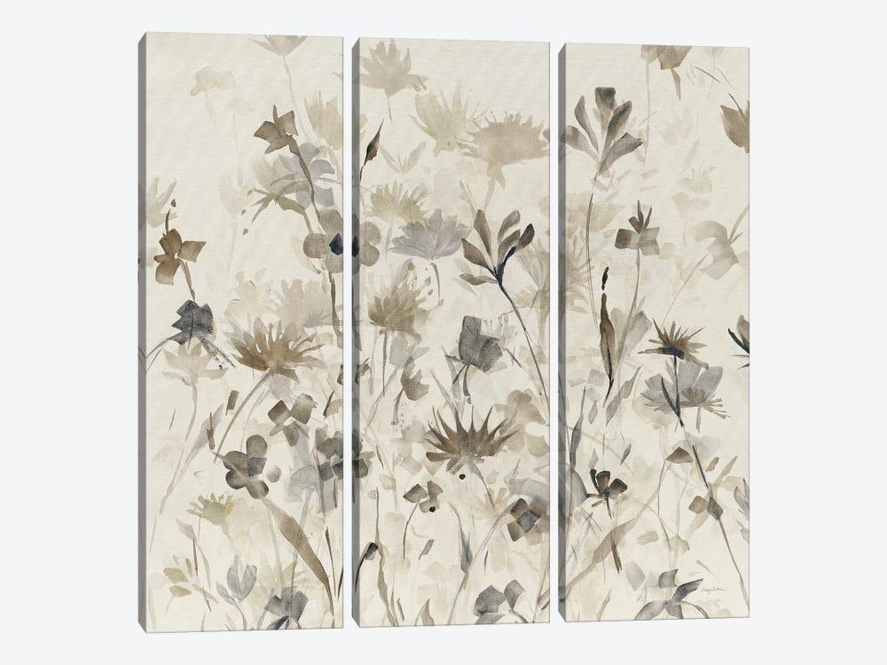 Garden Shadows IV by Avery Tillmon 3-piece Canvas Print