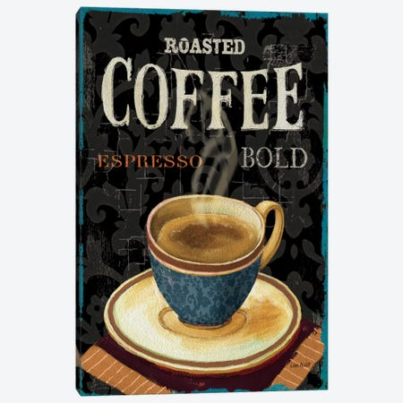 Today's Coffee IV Canvas Print #WAC648} by Lisa Audit Canvas Art