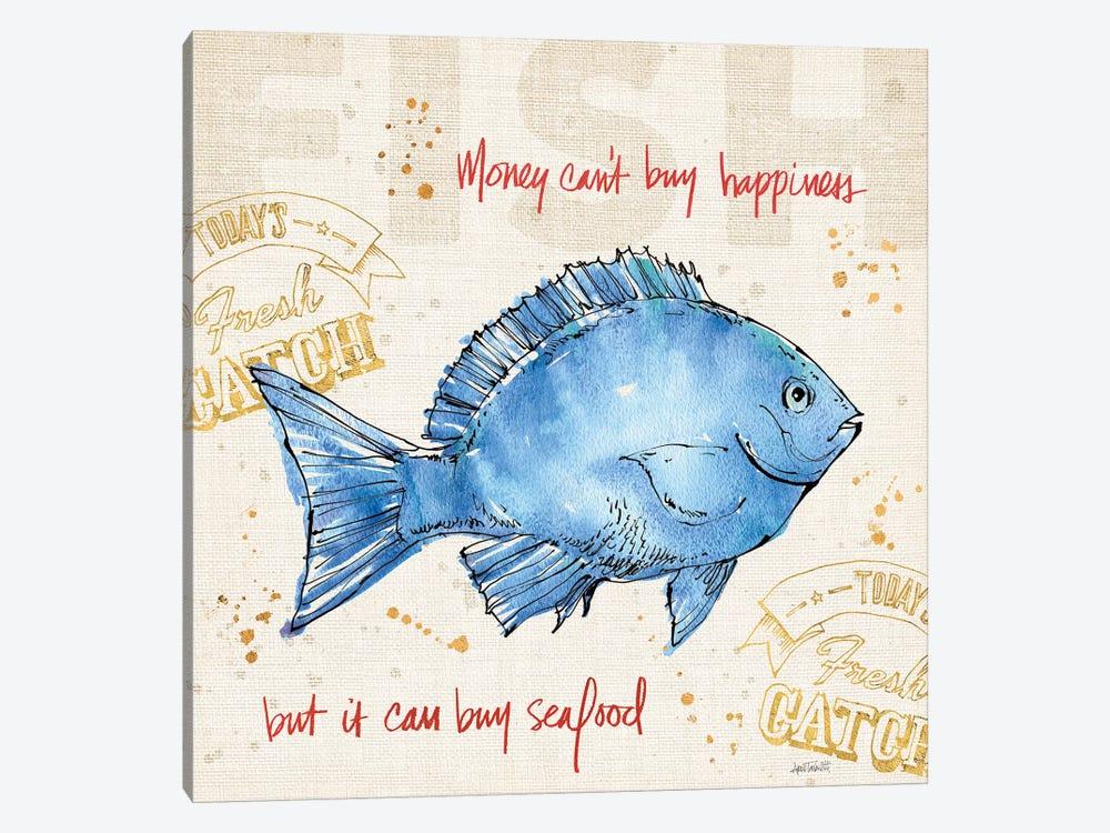 Coastal Catch III by Anne Tavoletti 1-piece Art Print