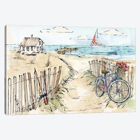Coastal Catch V Canvas Print #WAC6493} by Anne Tavoletti Canvas Art Print