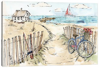 Coastal Catch V Canvas Art Print
