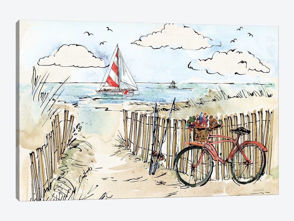Coastal Catch VI by Anne Tavoletti 1-piece Canvas Wall Art