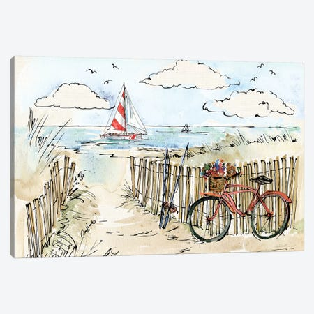 Coastal Catch VI Canvas Print #WAC6494} by Anne Tavoletti Canvas Artwork