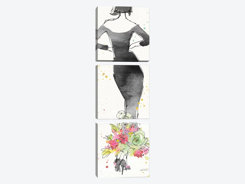 Floral Fashion I by Anne Tavoletti 3-piece Art Print
