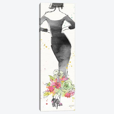 Floral Fashion I Canvas Print #WAC6495} by Anne Tavoletti Canvas Art