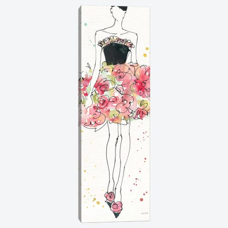 Floral Fashion II Canvas Print #WAC6496} by Anne Tavoletti Canvas Art