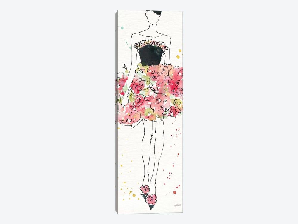 Floral Fashion II by Anne Tavoletti 1-piece Canvas Wall Art