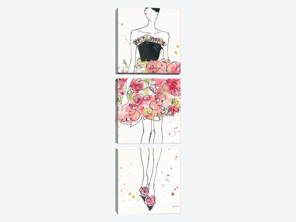 Floral Fashion II by Anne Tavoletti 3-piece Canvas Wall Art