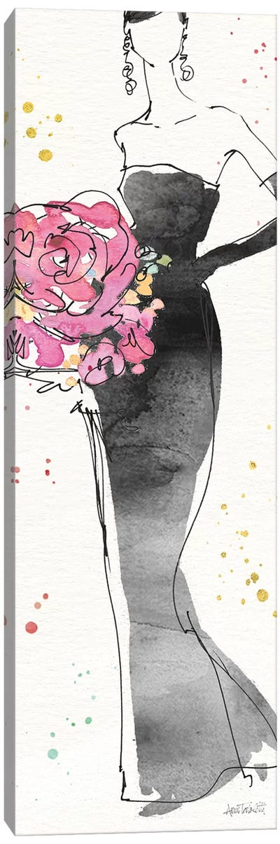 Floral Fashion III Canvas Art Print