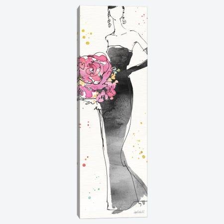 Floral Fashion III Canvas Print #WAC6497} by Anne Tavoletti Canvas Artwork