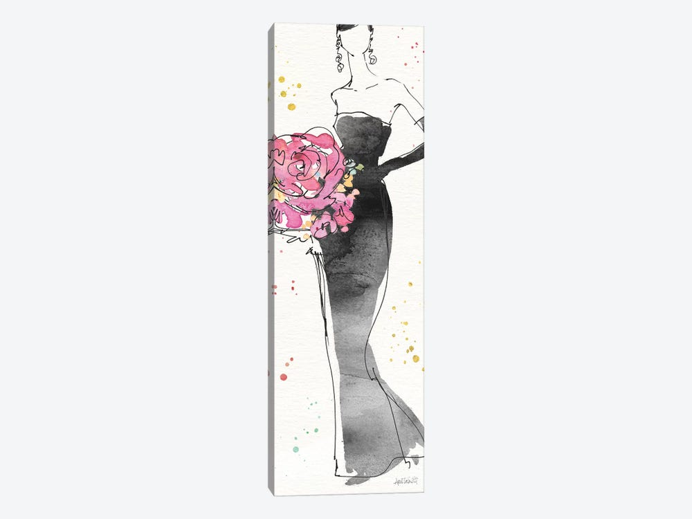 Floral Fashion III by Anne Tavoletti 1-piece Canvas Art Print