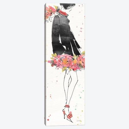 Floral Fashion IV Canvas Print #WAC6498} by Anne Tavoletti Canvas Art Print