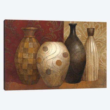 Timeless Vessels 3-Piece Canvas #WAC64} by Albena Hristova Canvas Wall Art