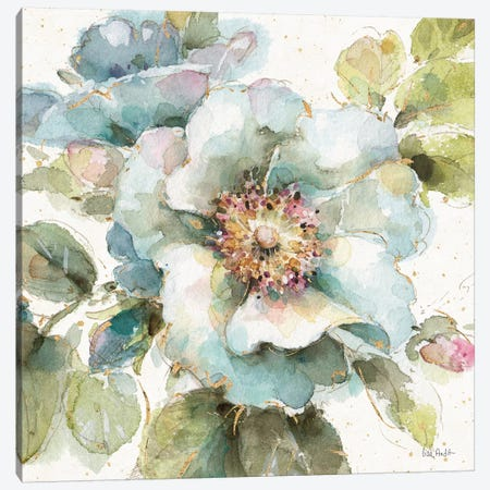 Country Bloom VII Canvas Print #WAC6507} by Lisa Audit Canvas Wall Art