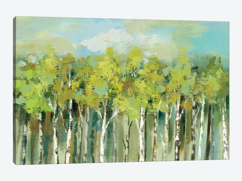 April Tree Tops by Silvia Vassileva 1-piece Canvas Art