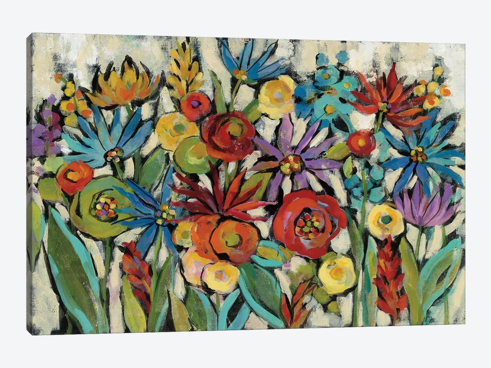 Confetti Floral I by Silvia Vassileva 1-piece Canvas Print
