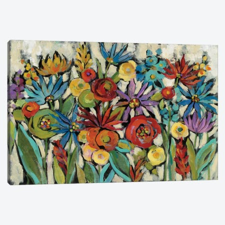 Confetti Floral I Canvas Print #WAC6510} by Silvia Vassileva Canvas Art