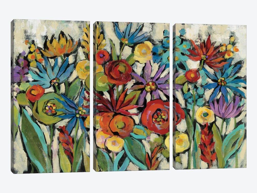 Confetti Floral I by Silvia Vassileva 3-piece Art Print