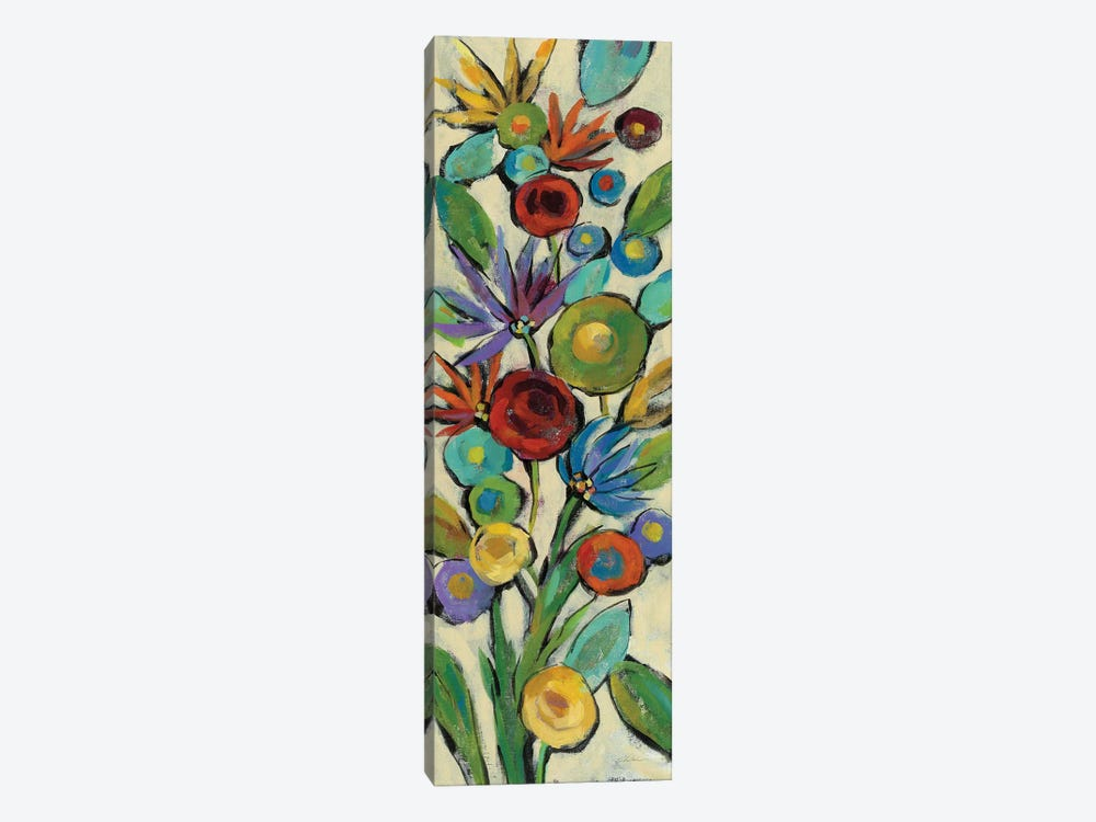 Confetti Floral II by Silvia Vassileva 1-piece Canvas Artwork