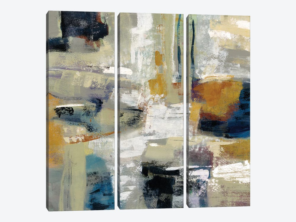 Full Moon I by Silvia Vassileva 3-piece Canvas Art