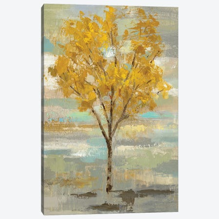 Golden Tree And Fog I Canvas Print #WAC6515} by Silvia Vassileva Art Print