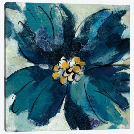 Inky Floral II Canvas Print #WAC6518} by Silvia Vassileva Canvas Wall Art