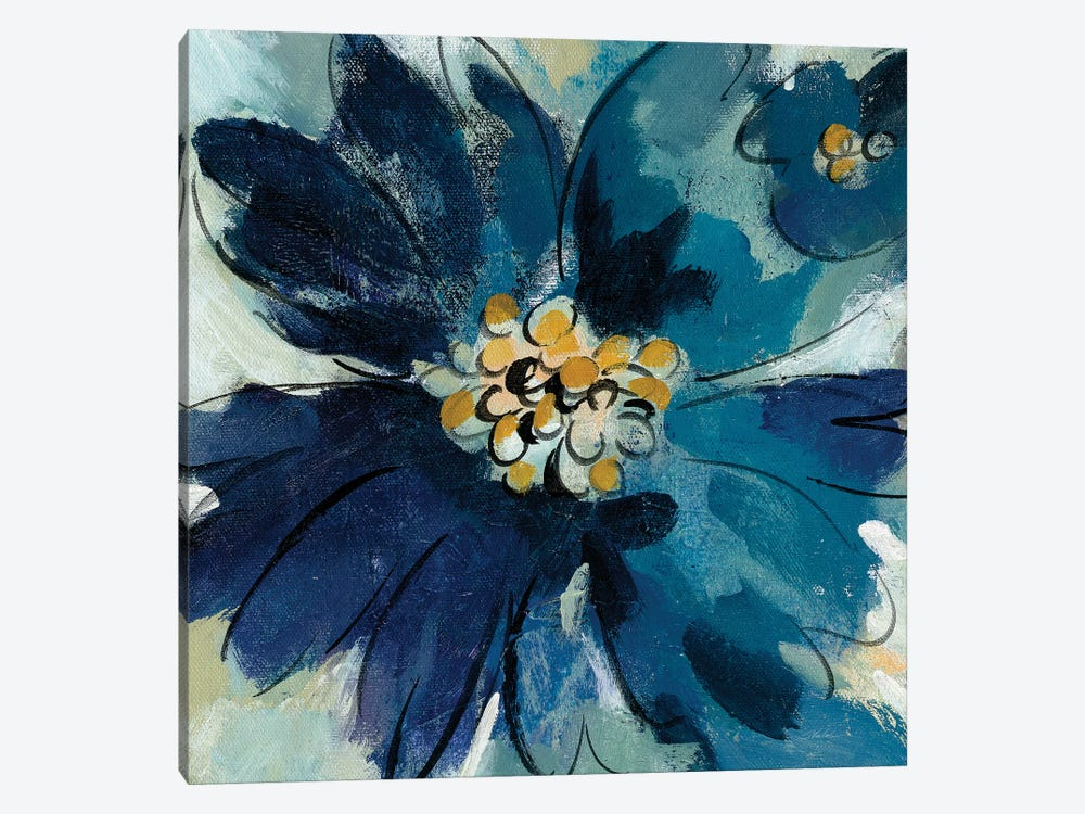 Inky Floral III by Silvia Vassileva 1-piece Canvas Art