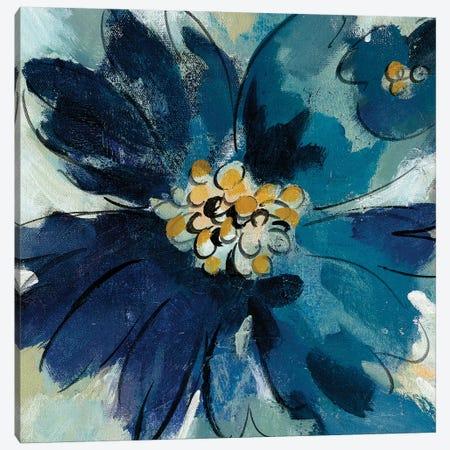 Inky Floral III Canvas Print #WAC6519} by Silvia Vassileva Canvas Wall Art