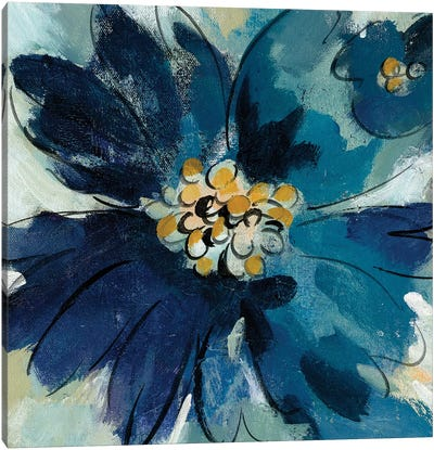 Inky Floral III Canvas Art Print