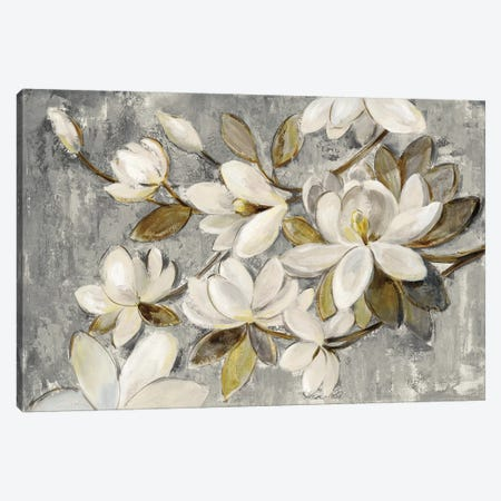 Magnolia Simplicity Canvas Print #WAC6521} by Silvia Vassileva Canvas Art Print