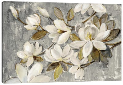 Magnolia Simplicity Canvas Art Print