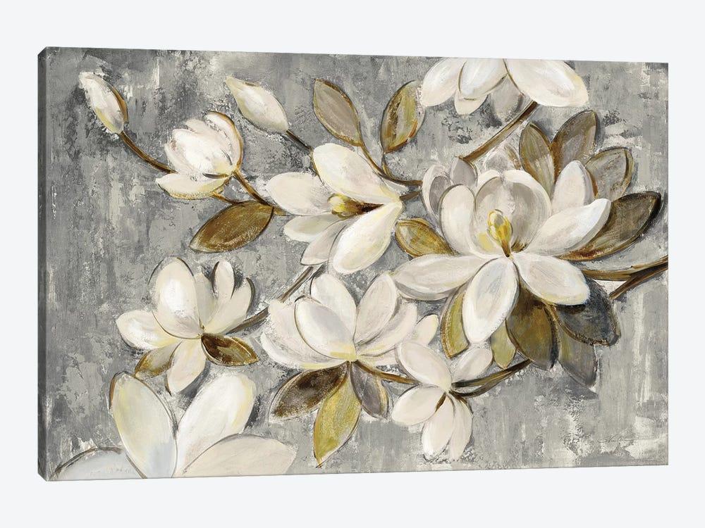 Magnolia Simplicity by Silvia Vassileva 1-piece Canvas Art Print