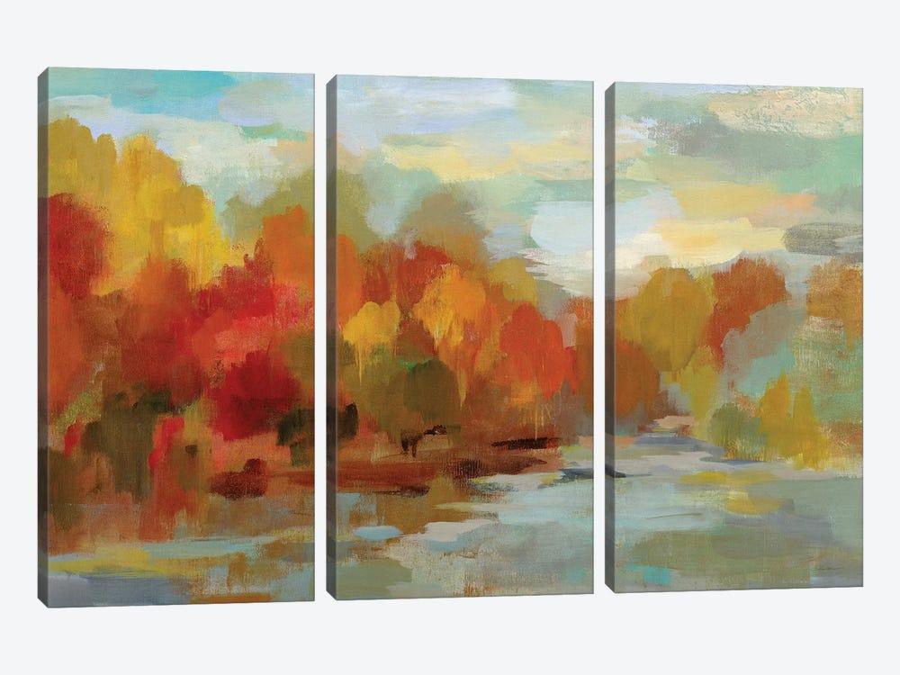 October Dreamscape by Silvia Vassileva 3-piece Canvas Artwork