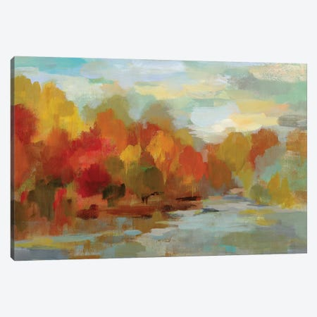 October Dreamscape Canvas Print #WAC6526} by Silvia Vassileva Canvas Artwork