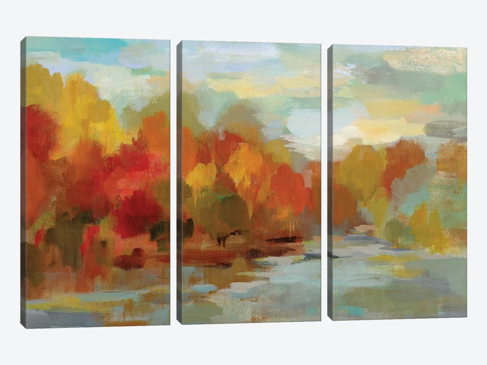 October Dreamscape by Silvia Vassileva 3-piece Canvas Artwork