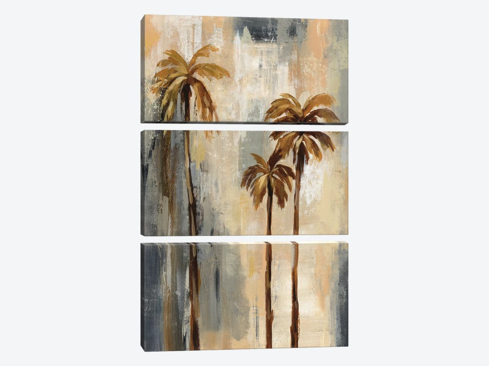 Palm Trees I by Silvia Vassileva 3-piece Art Print