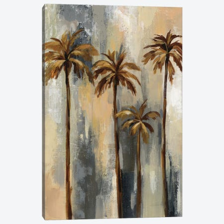 Palm Trees II Canvas Print #WAC6530} by Silvia Vassileva Canvas Wall Art