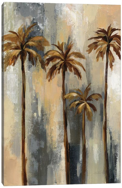 Palm Trees II Canvas Art Print