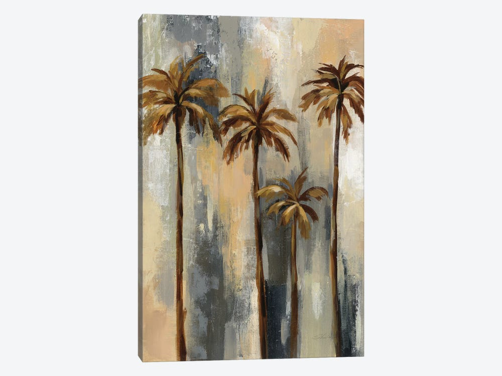 Palm Trees II by Silvia Vassileva 1-piece Canvas Art Print