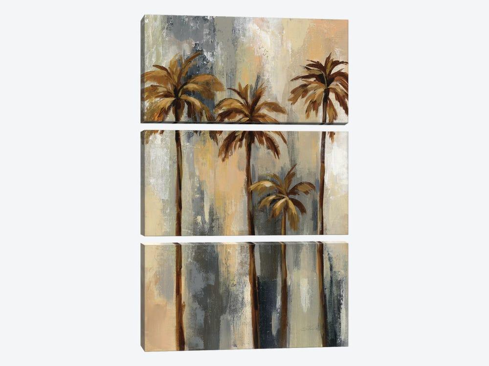 Palm Trees II by Silvia Vassileva 3-piece Canvas Print