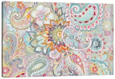 Boho Japonais Canvas Art Print