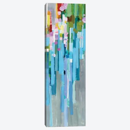Rainbow Of Stripes Panel I Canvas Print #WAC6537} by Danhui Nai Art Print