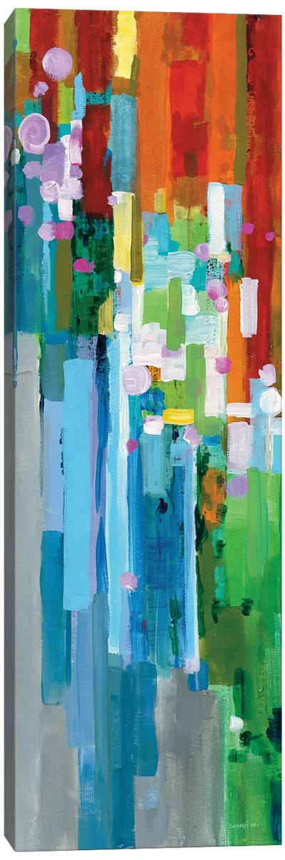 Rainbow Of Stripes Panel II Canvas Art Print
