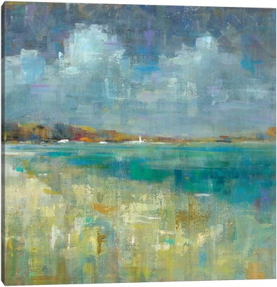 Sky And Sea Canvas Print #WAC6539
