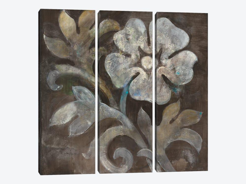 Fresco Floral I by Albena Hristova 3-piece Canvas Art