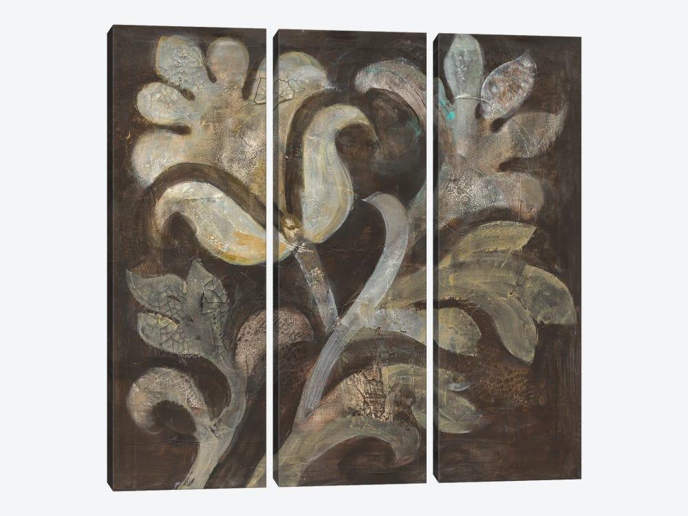 Fresco Floral II by Albena Hristova 3-piece Art Print