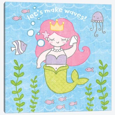 Magical Mermaid I Canvas Print #WAC6543} by Moira Hershey Art Print